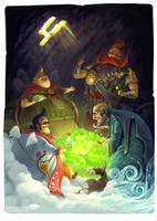 The tale about Four elements by Guro
