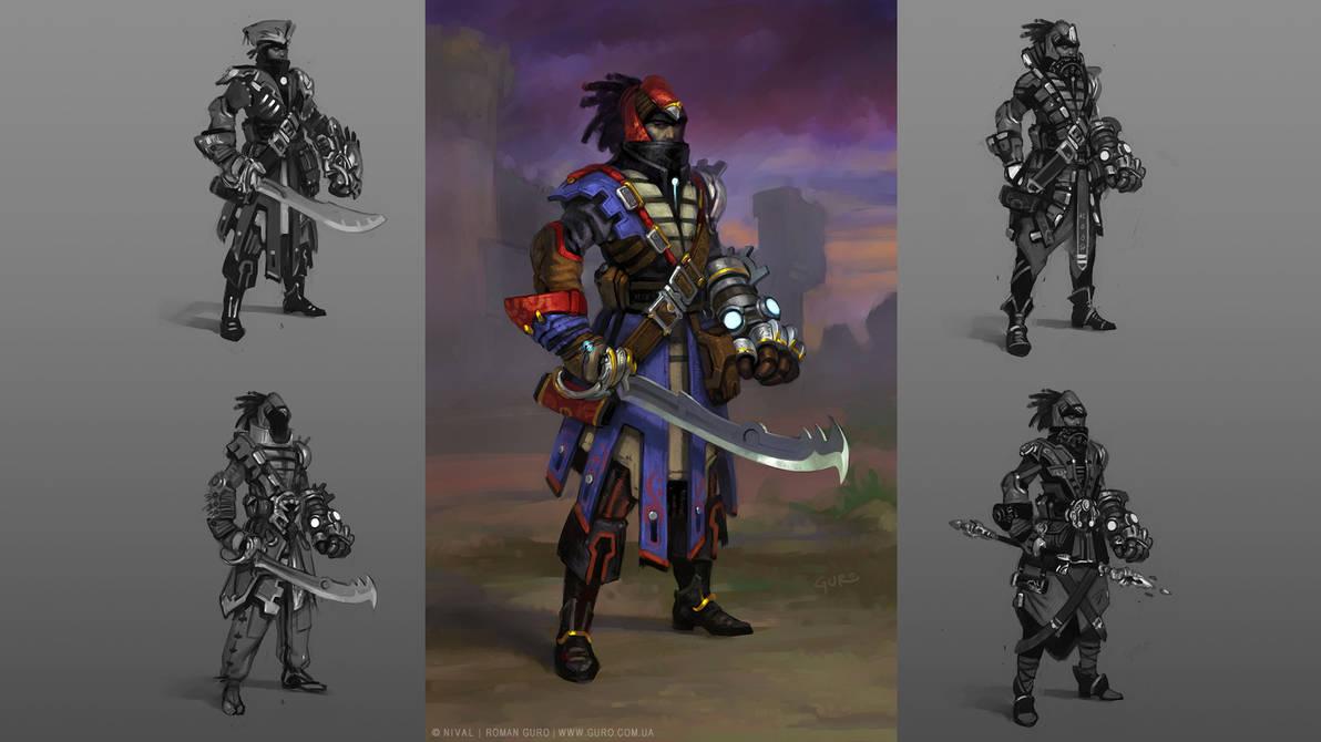 Main character by Guro