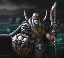 Bone Barbarian by Guro
