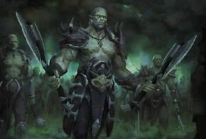 Orcs by Llyncis