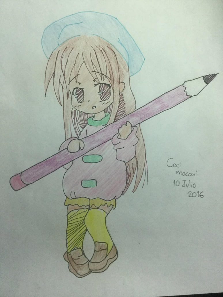 Let's relax with drawings and and music  by cepsikawaii14