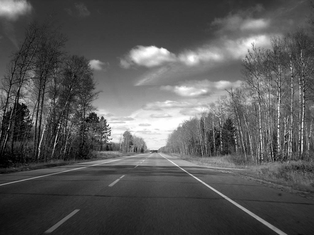 Minnesota roads by orographic