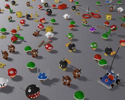 Mario's toys