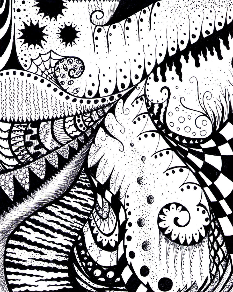 zentangle 3 by deathycat zentangle 3 by deathycat