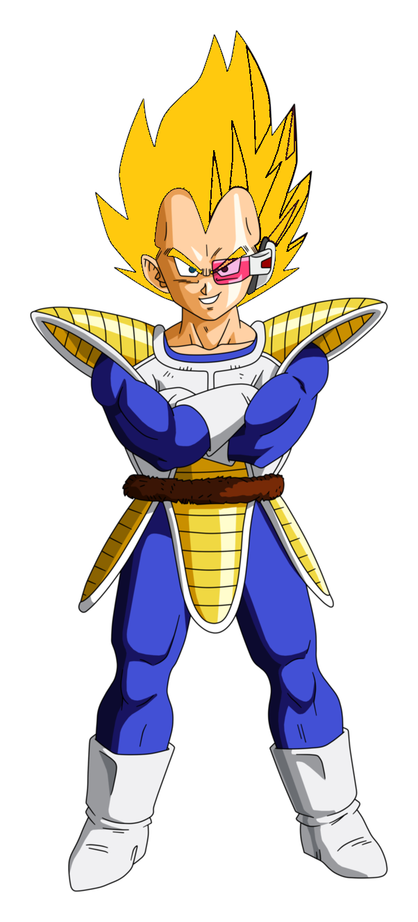 Super Saiyan Vegeta Saiyan Saga By Qbbaby On Deviantart