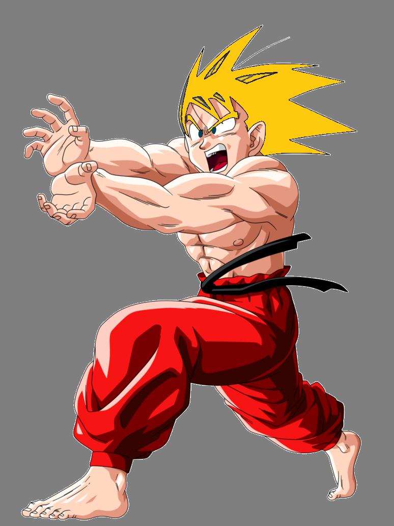 ssj Goku Teen Super Kamehameha by qbbaby on DeviantArt