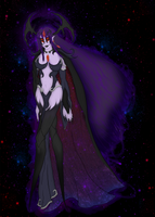 [HW][OC] Glory to the Void Queen by Thaeavoira