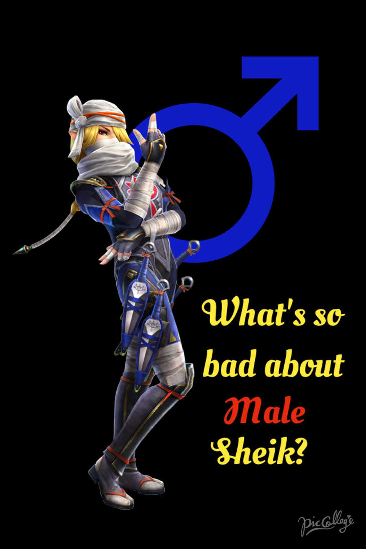 Whats so bad about Male Sheik? by SammySenpai on DeviantArt
