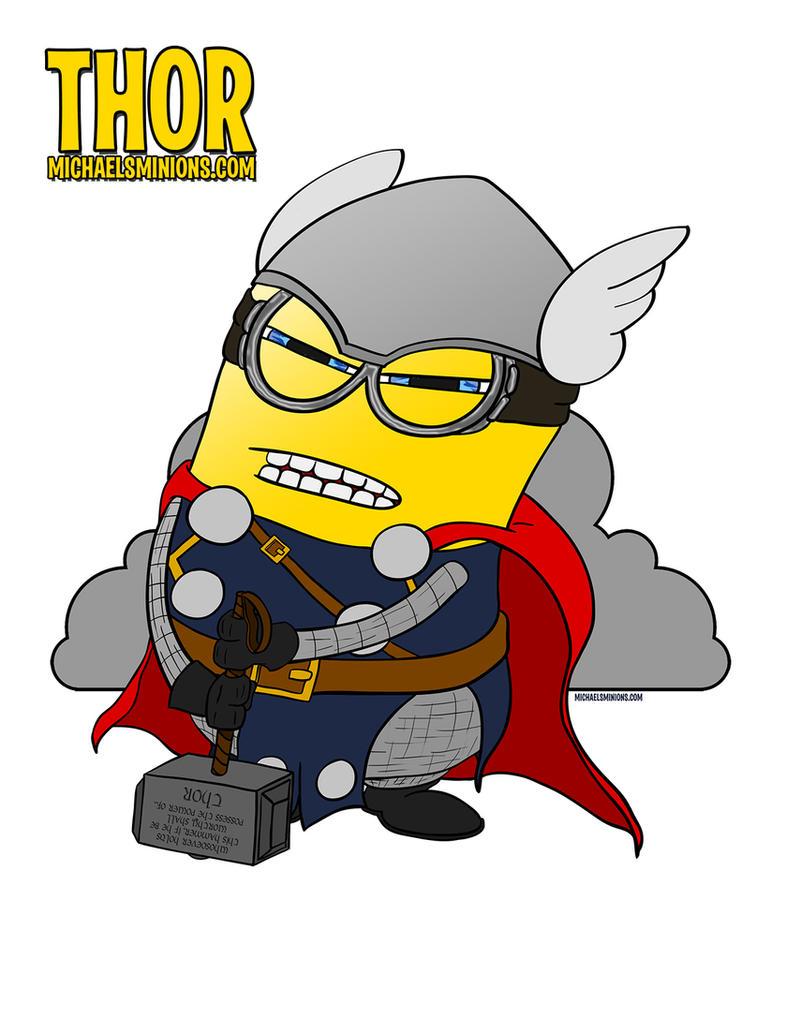 Minion Thor Thor Minion by Maclpirata