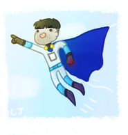 Capes are so fly by chameleocoonJ