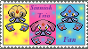 Trio Stamp by mymolly123
