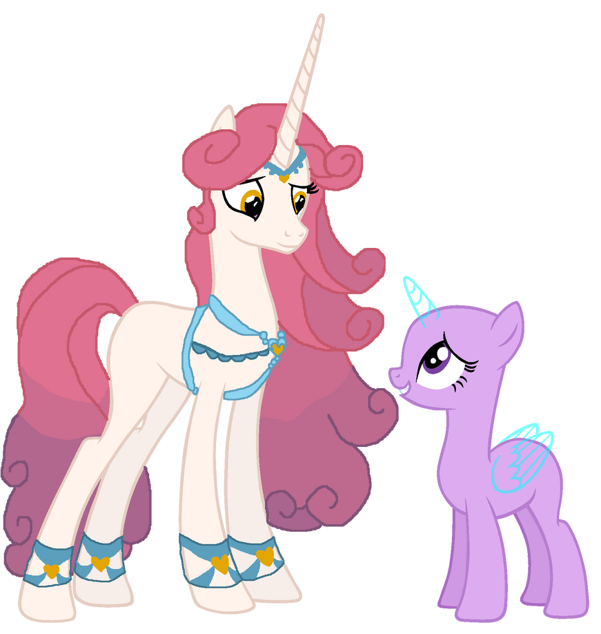 MLP Base With Princess Amore And A Mare By Mymolly123 On
