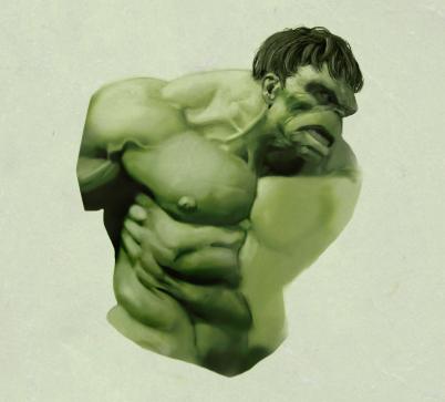 Hulk Progress by MattKaufenberg