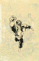 Green Lantern Inks by MattKaufenberg