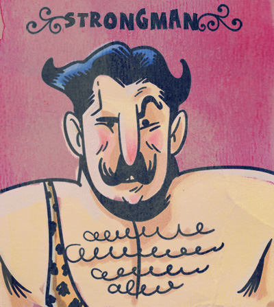 Strongman by MattKaufenberg