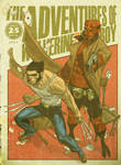 Wolverine and Hellboy Digest