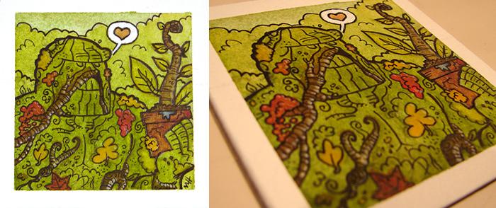 Swamp Thing by MattKaufenberg