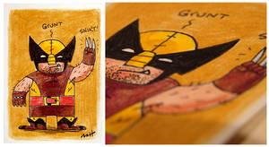 Wolverine - Brown by MattKaufenberg