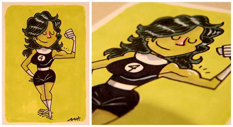 She-Hulk by MattKaufenberg