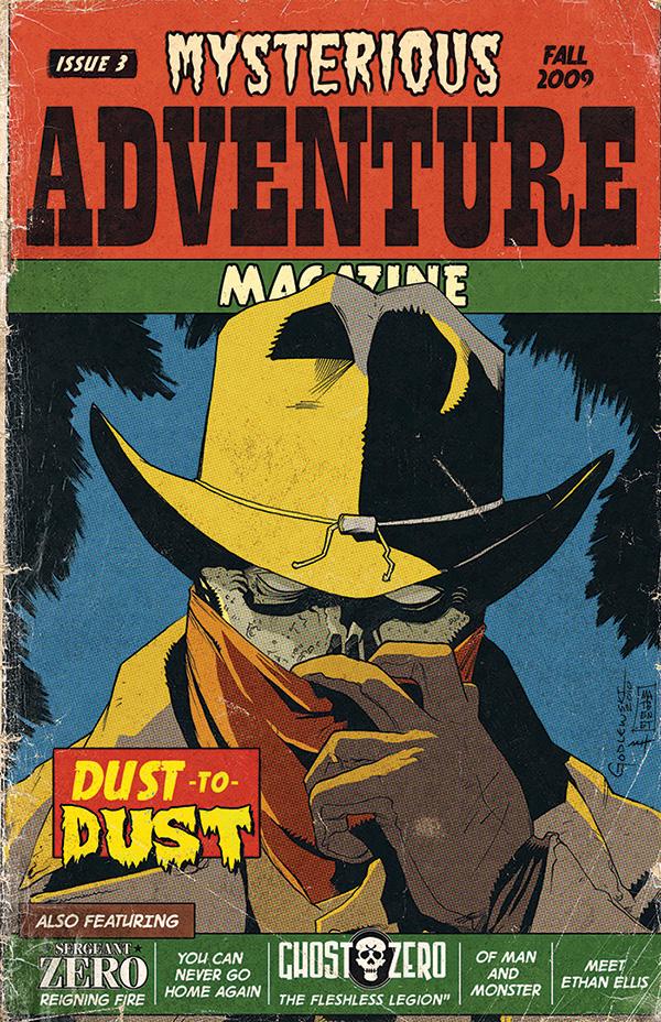 Mysterious Adventure Issue 3 by MattKaufenberg
