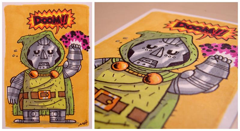 Doctor Doom Commission by MattKaufenberg