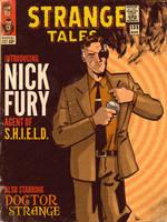 Nick Fury by MattKaufenberg