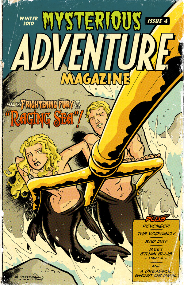 Mysterious Adventure Issue 4 by MattKaufenberg