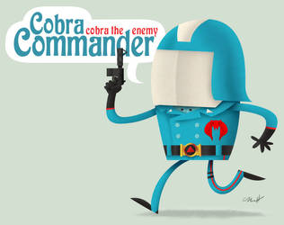 Cobra Commander by MattKaufenberg