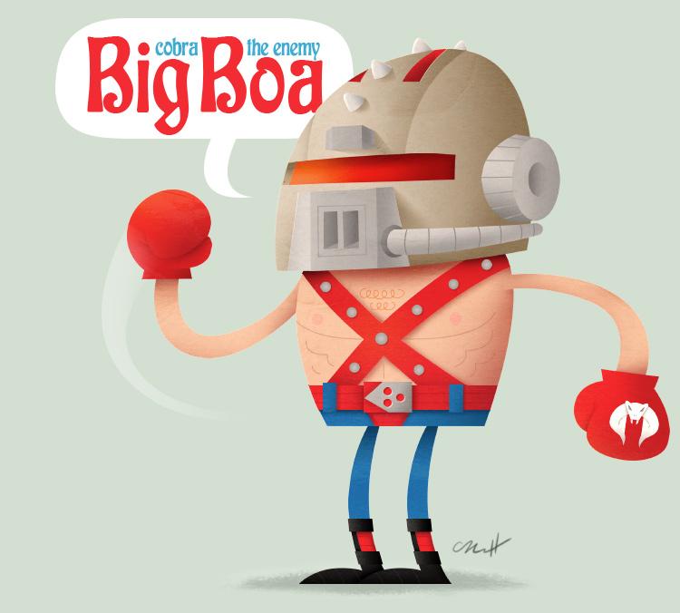 Big Boa by MattKaufenberg