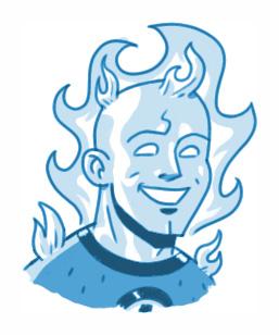 Human Torch Sketch by MattKaufenberg