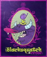 Blacksquatch and Crow by MattKaufenberg