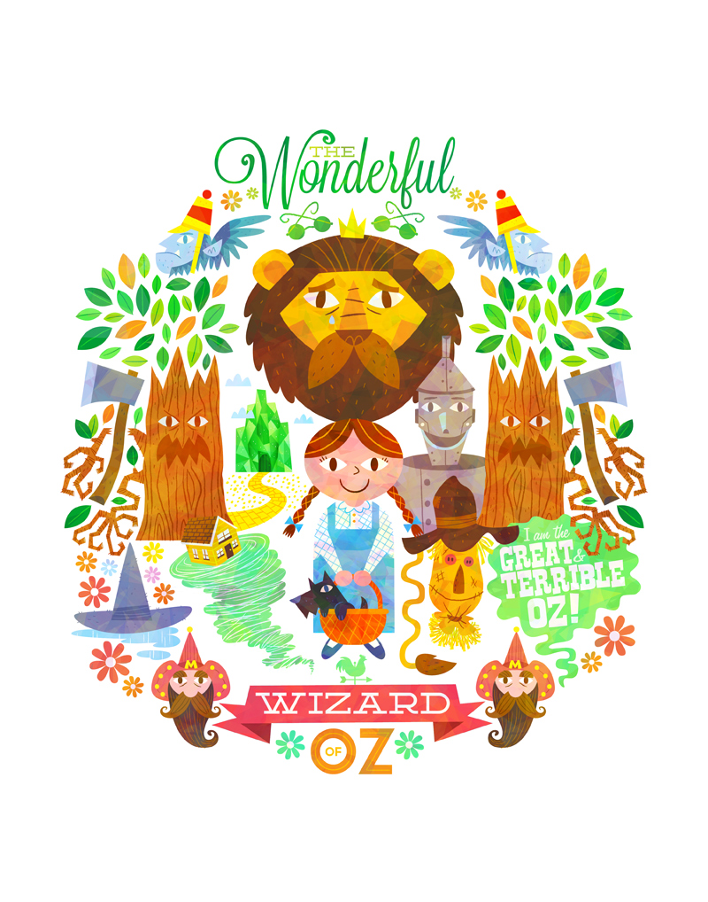 The Wonderful Wizard of Oz by MattKaufenberg