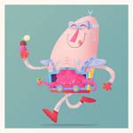 Krang Loves Ice Cream