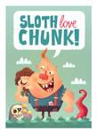 Sloth Love Chunk by MattKaufenberg