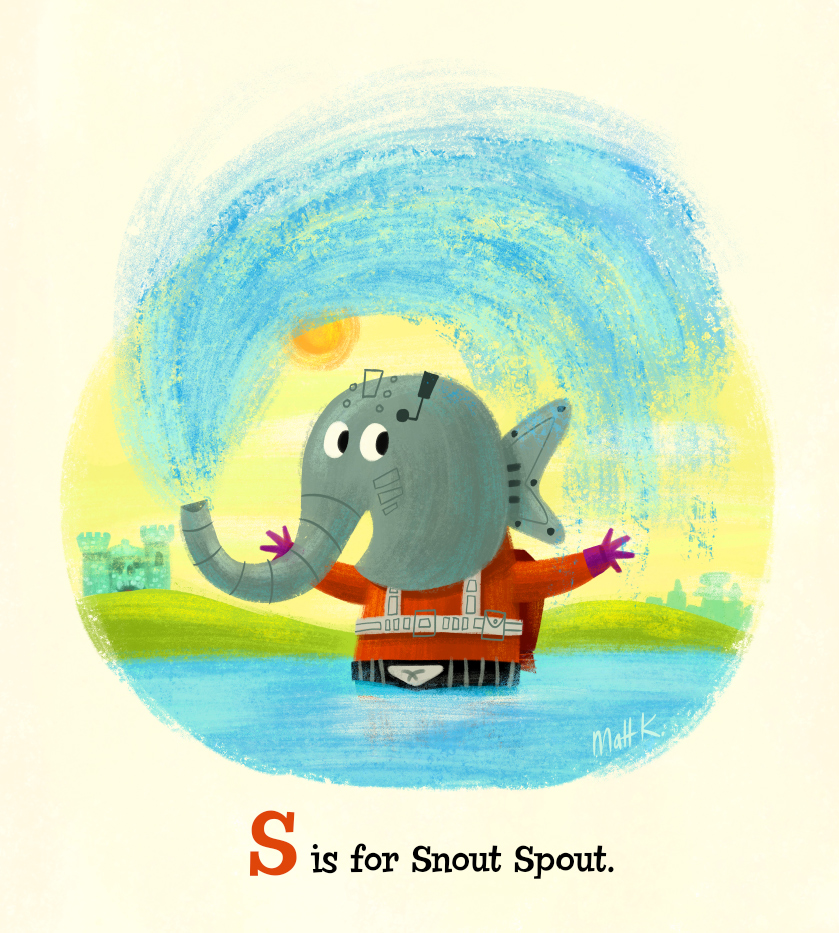 S is for Snout Spout. by MattKaufenberg