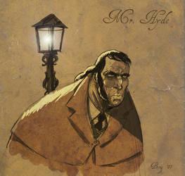 Mr. Hyde by MattKaufenberg