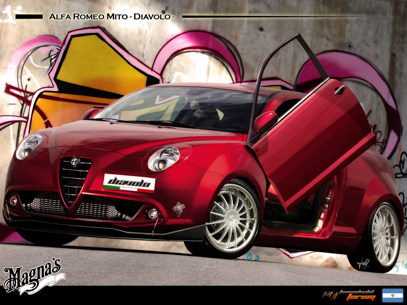 karosserie aerodynamik gta heck alfa romeo forum. Black Bedroom Furniture Sets. Home Design Ideas