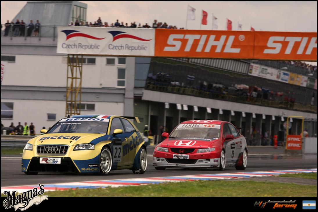 _Audi S3 WTCC_ by magnanimus