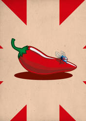 Chili peppers by GuiveMaiSlipiDei