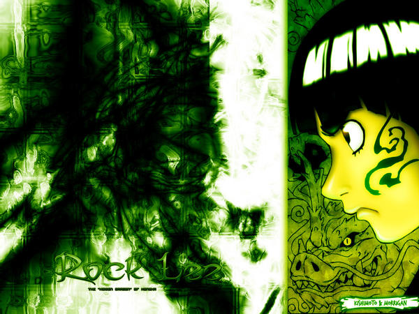 Free Anime Wallpapers Wallpaper Rock Lee