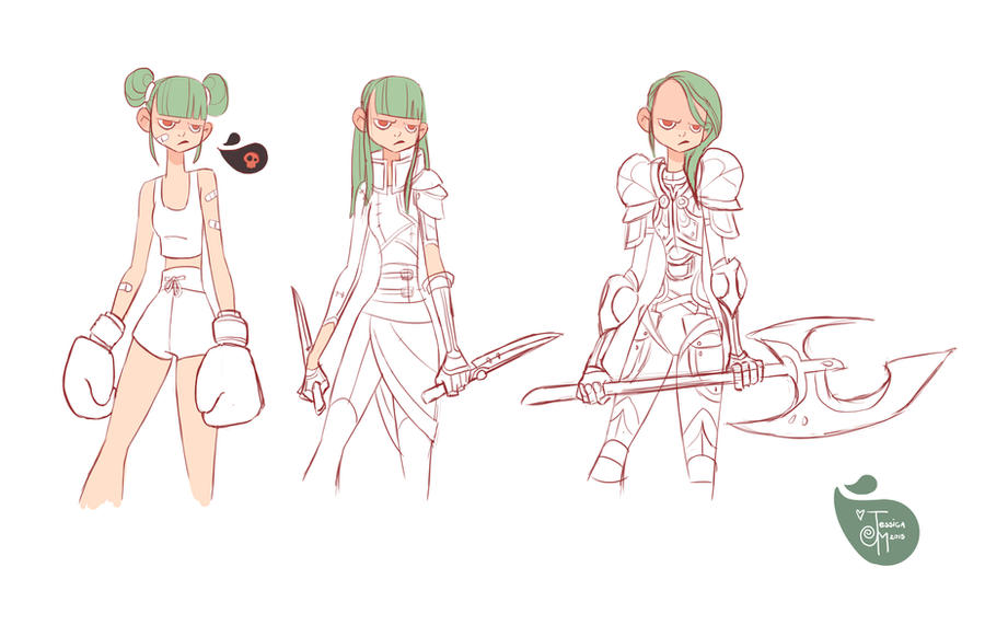 Character Design Ideas Generator : Angry character line up rough pass by meomai on deviantart