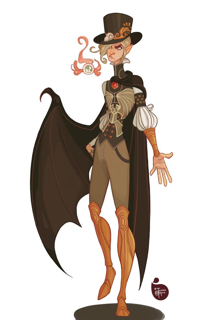 Character Design Commissions Deviantart : Commission pathfinder character by meomai on deviantart