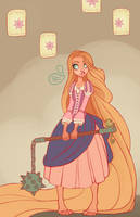 Rapunzel by MeoMai