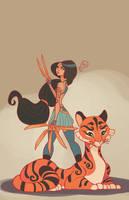 Jasmine and Rajah by MeoMai