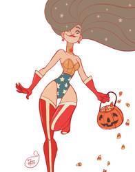 Halloween Character Design - Wonder Woman by MeoMai