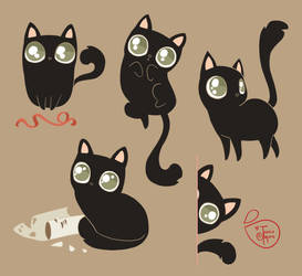 Character Design - My Cat by MeoMai