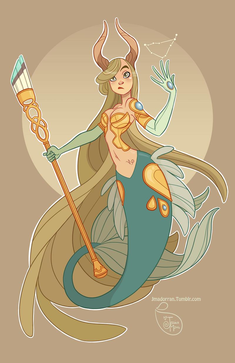 Character Design - Capricorn by MeoMai