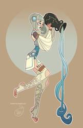 Character Design - Aquarius by MeoMai