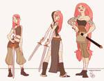 Character Design - Clara the Sword Viking
