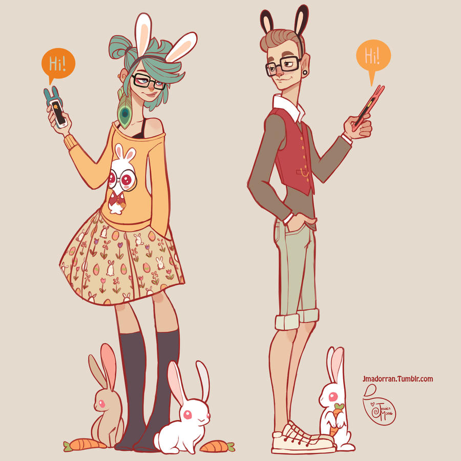 The Art Of Character Design Volume I : Character design hipster love by meomai on deviantart